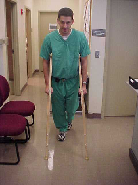 Crutches Causes Symptoms Treatment Pictures Of