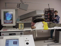 Stress nuclear imaging using single photon emission computed tomography (SPECT)