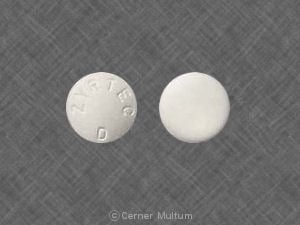 cetirizine and pseudoephedrine