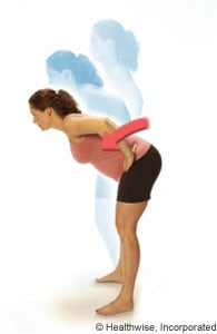 Photo of upper body bends