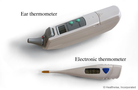 Photos of thermometers