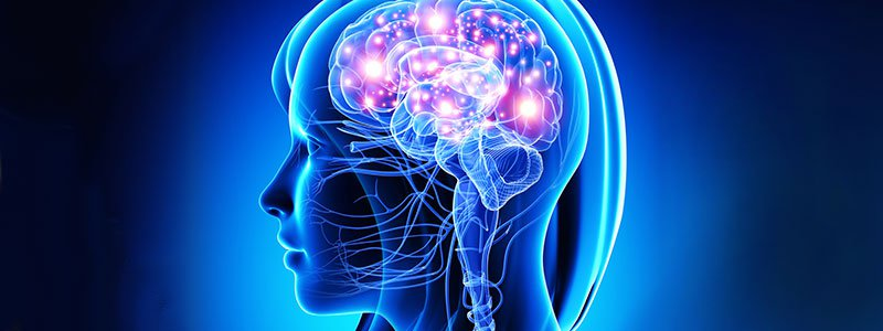 Illustration depicting the concept of how dopamine affects the brain.