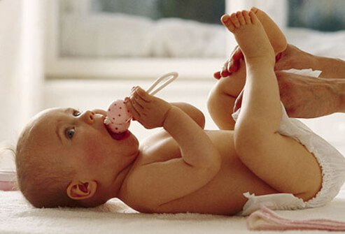 How to Diaper Your Baby Slideshow