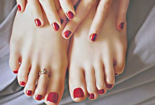 Pedicure Pictures Safety, Toenail Polish Colors, Calluses, Cuticles, and More Slideshow