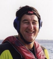 A type of ear protection for water sports such as skiing, windsurfing, wakeboarding, or parasailing.