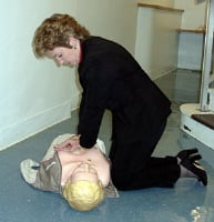 CPR buys some time until a defibrillator becomes available.