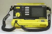 Manual defibrillators are used by trained health care professionals.