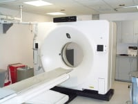 Picture of CT scan machine.