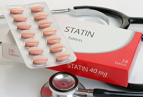 Picture a pack statins in 40 mg doses.