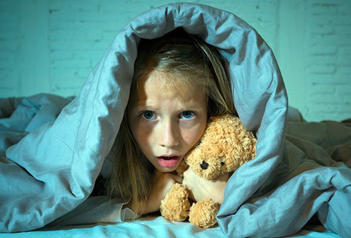 Night terrors are usually suffered by young children and are marked by recurrent episodes of sobbing and terror during sleep.