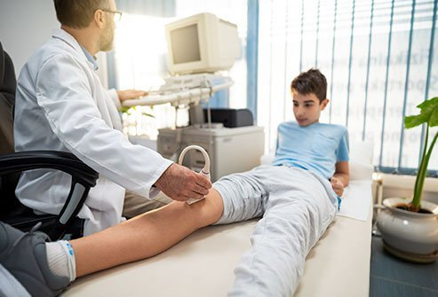 Osgood-Schlatter disease typically affects kids between 8-15 years of age.
