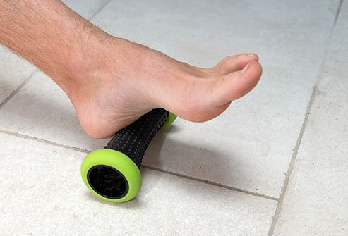 Stretching exercises can help alleviate the pain of plantar fasciitis.