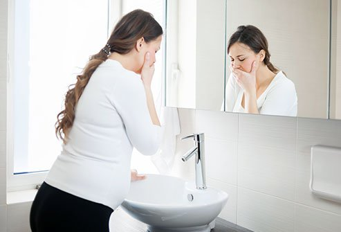 Most women who experience vomiting during pregnancy, or morning sickness, go on to have healthy babies.