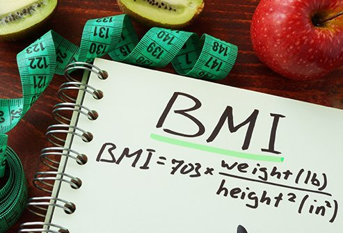 The BMI or body mass index is more accurate for determining obesity than just weight alone, but it is only a screening tool and not a diagnostic one; it does not account for people with muscular frames or other variations.