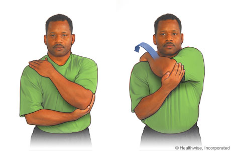 Picture of the posterior stretching exercise