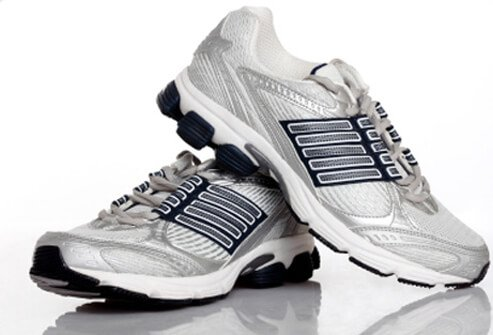 If you love to walk or jog, decent shoes are critical.