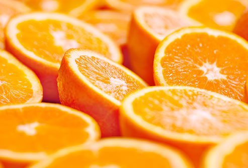 Citrus fruits like oranges are your best bet to boost your levels of vitamin C.