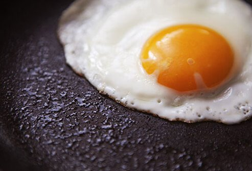 Eggs pack lots of cholesterol compared to other foods.