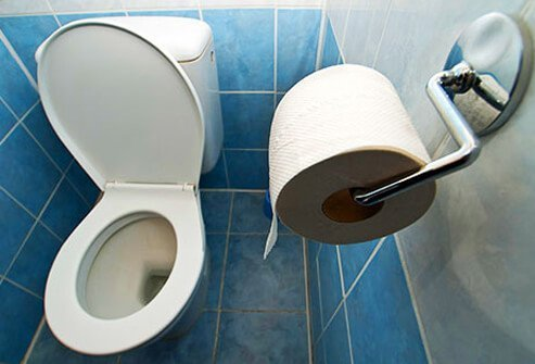 You probably will not get sick from using a public toilet.