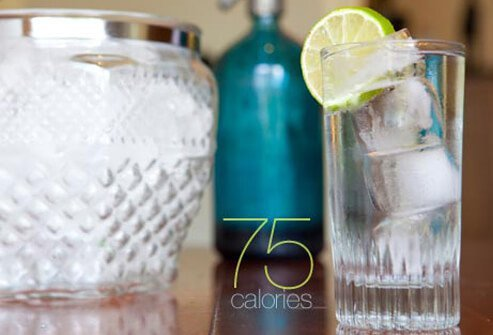 Photo of gin and tonic.