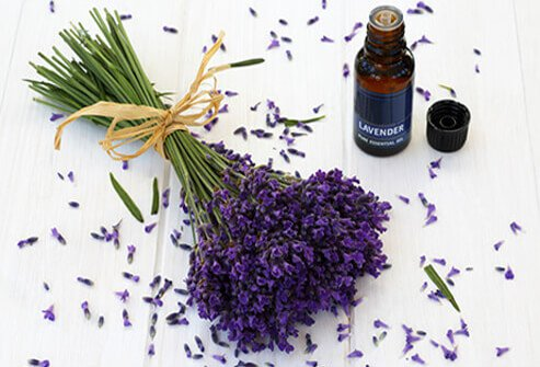 Sniff some lavender oil if you are wondering how to stop anxiety and stress.
