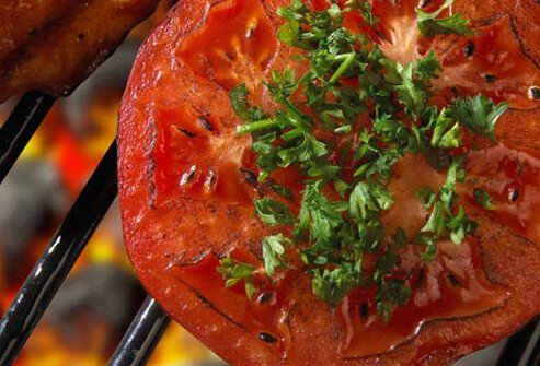 Photo of grilled tomato.