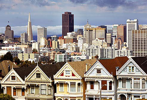 Photo of San Francisco.