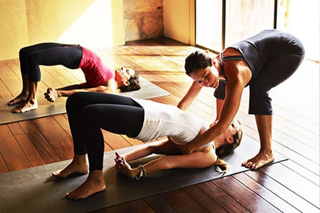 Yoga is a kind of exercise anyone can do at any age with modifications, if necessary.