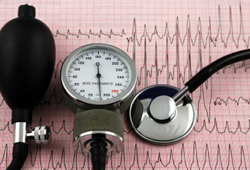 Heavy drinking can cause high blood pressure.