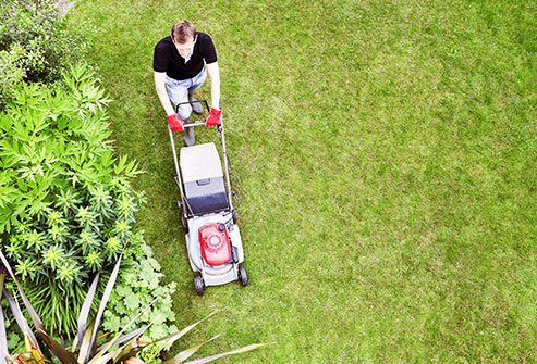 Thousands of people each year are injured using lawn mowers.