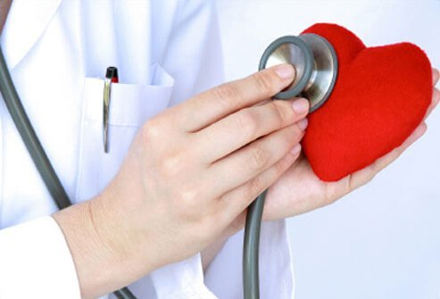 A stethoscope is one of a health care practitioner's tools in assisting in the diagnosis of possible heart disease.