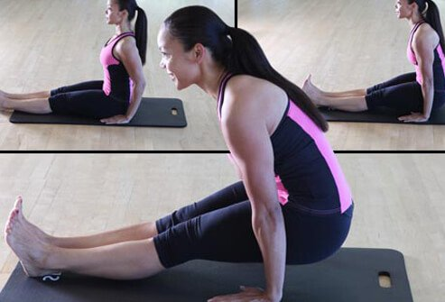 Photo of tendon stretch.
