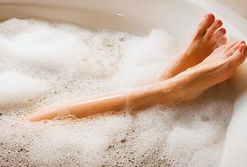 Try taking a warm bath or shower, one of the more useful home remedies to help reduce restless leg syndrome.
