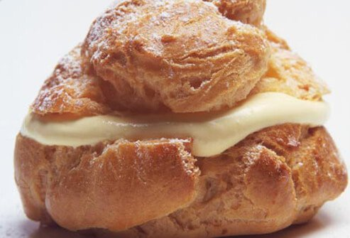 Photo of cheese danish.