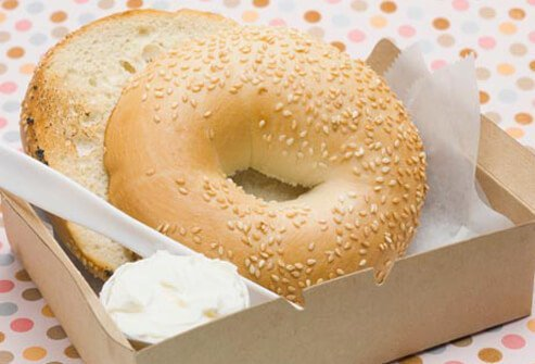 Well, bagels are better at increasing sugar levels in the blood than bread because bagels are packed with carbohydrates and calories.