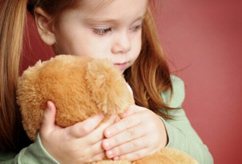 Young kids exhibit telltale signs when they have a stomach ache.