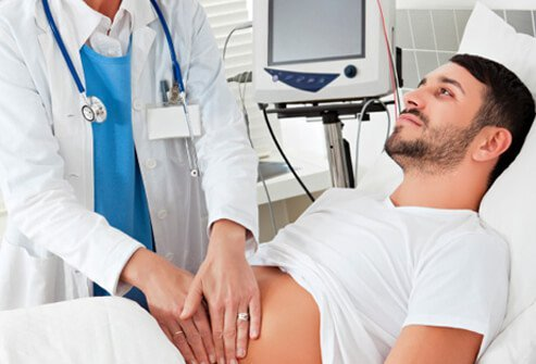A thorough physical exam can help determine the cause of your stomach pain.