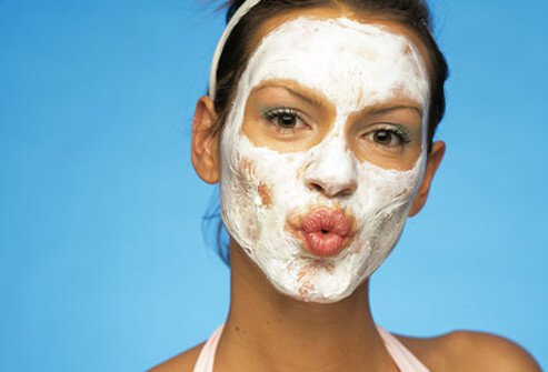 Wash your face no more than twice a day to avoid overdrying skin.