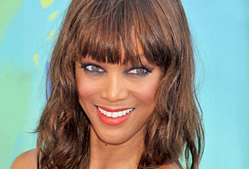 Photo of Tyra Banks.