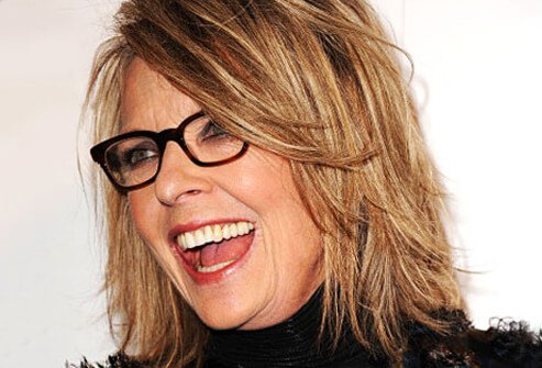Photo of Diane Keaton.