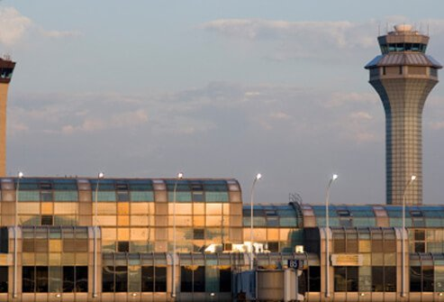 2. Chicago O'Hare International Airport: Score 88%