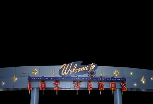 10. Las Vegas McCarran International Airport: Score 71%