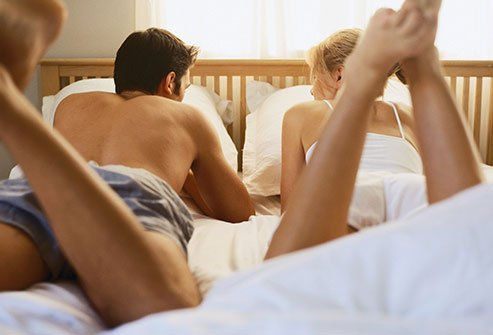 Pain and stiffness may make sex difficult.