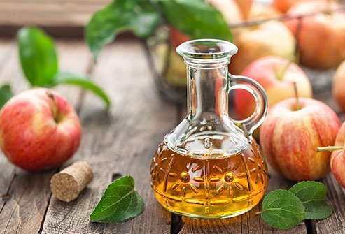 Apple cider vinegar is derived from fermented apples.