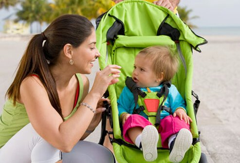 Baby Development - 12 Ways to Help Your Infant Learn & Grow slideshow S11-baby-in-stroller