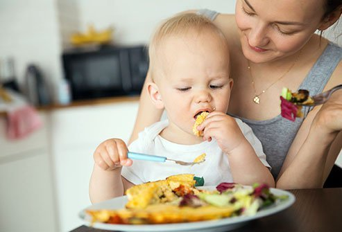 Introducing more than one food at a time can help young eaters develop healthy nutritional habits.