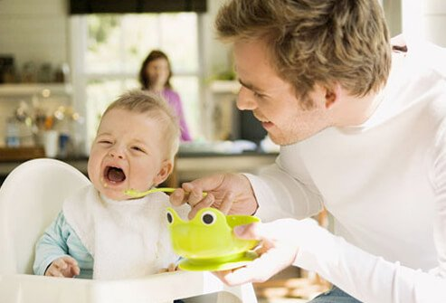 Baby Food and Nutrition - What to Feed Your Baby in Year 1 - Starting Solids slideshow S8-baby-fussy-eater