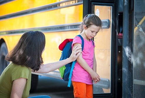 Learn to send your kids off to school without getting upset.