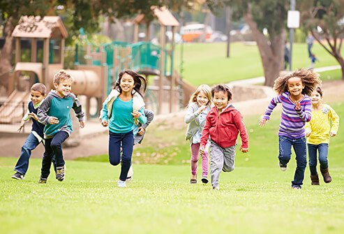 Teach your kids to play outside and exercise daily.