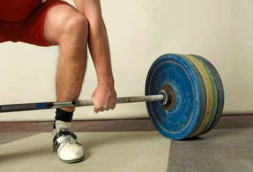 When lifting, try to be as close to the object as possible.
